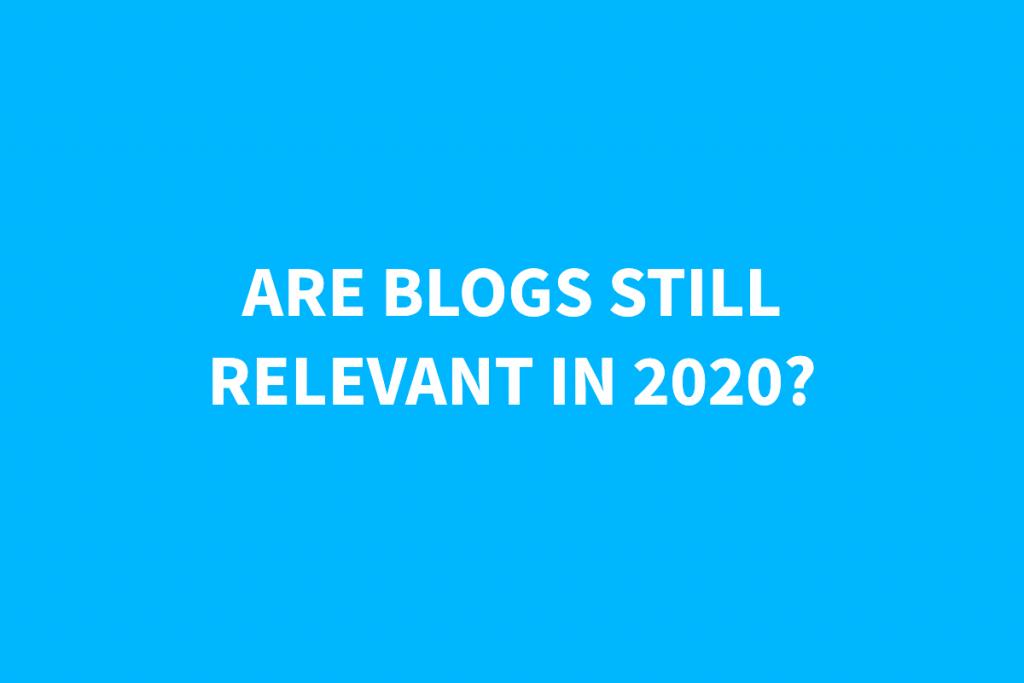 Are Blogs Still Worth It