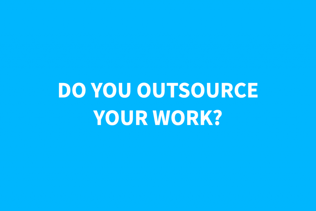 Do You Outsource Your Blog Writing