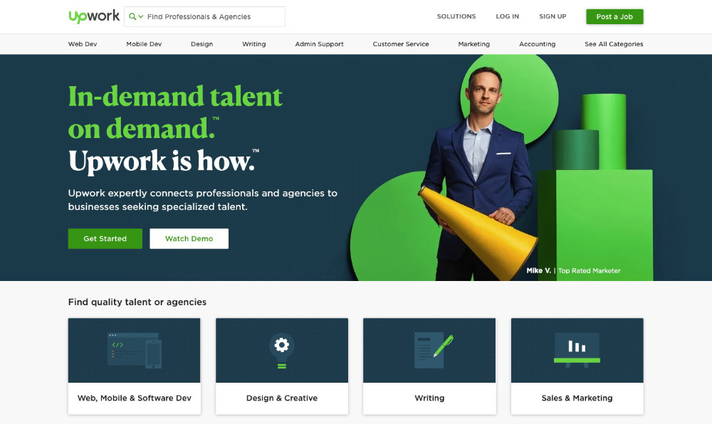 Finding Work On Upwork