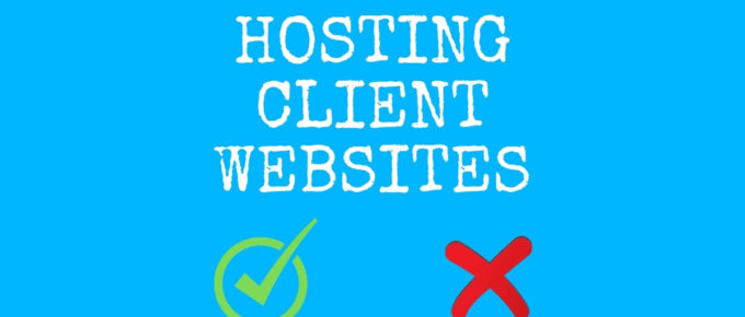 hosting client websites