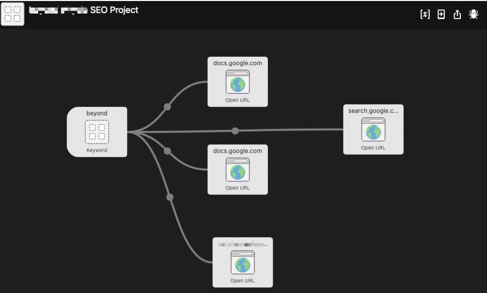 open url workflow alfred app for mac